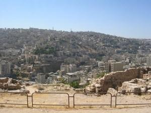 Amman Jordan Citadel Ruin