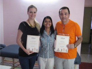 Ayurveda Massage Course India - Gagori with Lucia & Michel