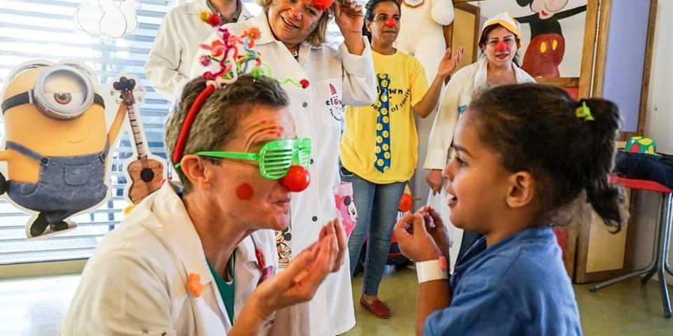 clown dottori palestina betlemme caritas baby hospital