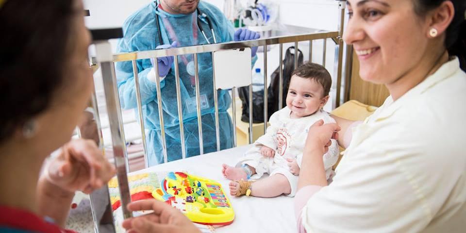 bambino palestina ospedale ammalato caritas baby hospital betlemme
