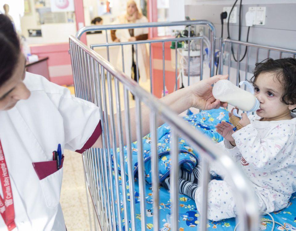 bambina palestinese