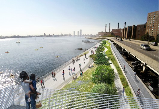 Lower Manhattan Climate Resiliency Plan ©NYC