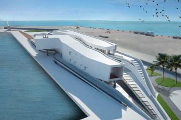 The future Falanto Port Service Center. Port of Taranto