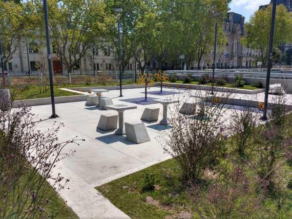 Public space in Puerto Madero, © Corporación Puerto Madero