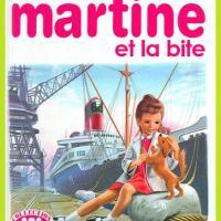 Martine détournements albums