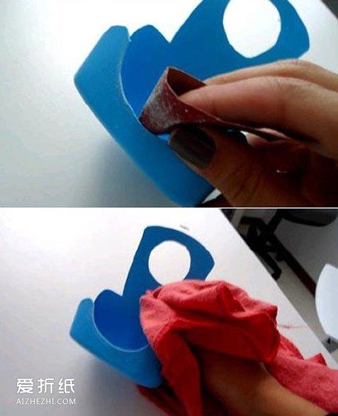 怎么制作手機充電架 塑料瓶手工制作充電架_愛折紙網