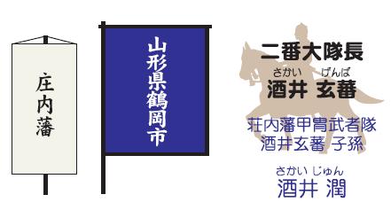 【2017隊列詳細⑧】松平時代・庄内藩(山形県鶴岡市)