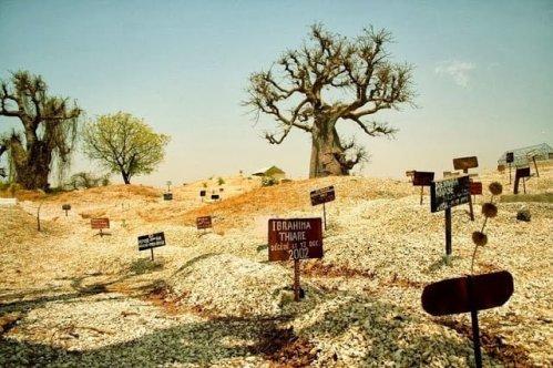 Muslim Graveyard at Fadiouth
