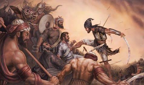 Hindi, Story, History, Kahani, itihas, Battle of Chamkaur, Chamkaur ka yudh,