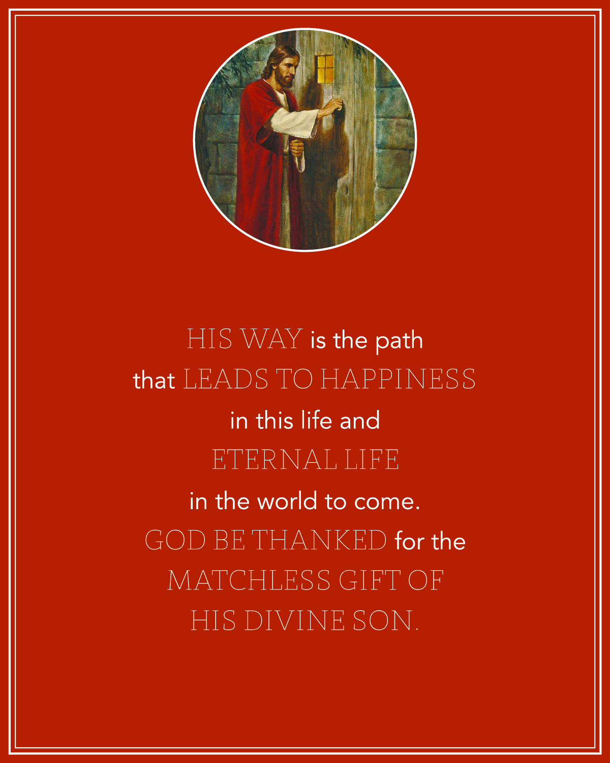 It is an image of Magic The Living Christ Free Printable