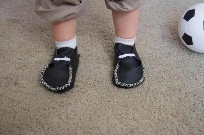 Transitioning to Barefoot Shoes and Making Leather Shoes for the Kids