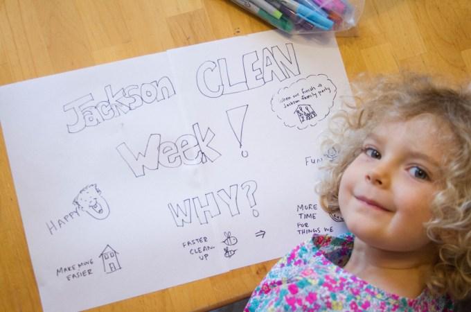 Jackson Family Clean Week
