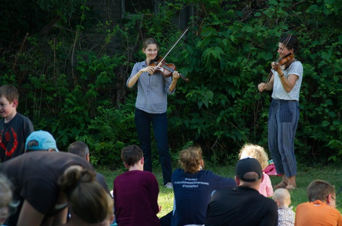 The Most Wonderful Musical Gift and Our Fiddle Concert