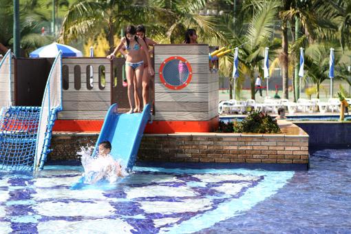 piscina BOURBON ATIBAIA RESORT