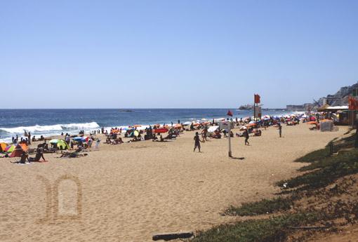 Vina del Mar - praia