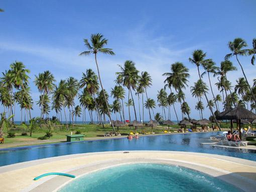 Hidro piscina e praia Iberostar