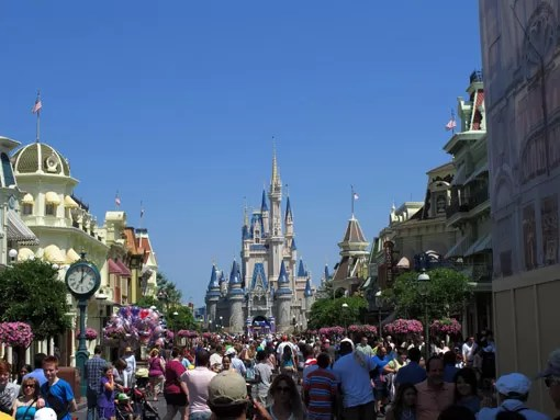 O CASTELO DA DISNEY MAGIC KINGDOM