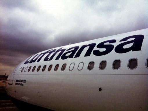 Lufthansa primeira classe