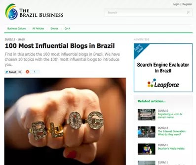 100 blogs influentes