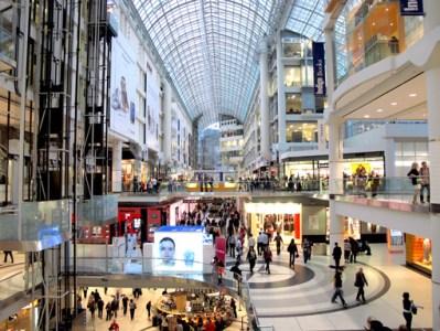 Eaton Centre Shopping Toronto