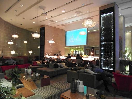 LOBBY DO HOTEL RENAISSANCE SAO PAULO
