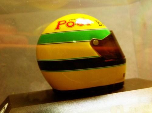 Capacete Senna replica