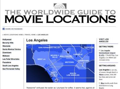 Movie location