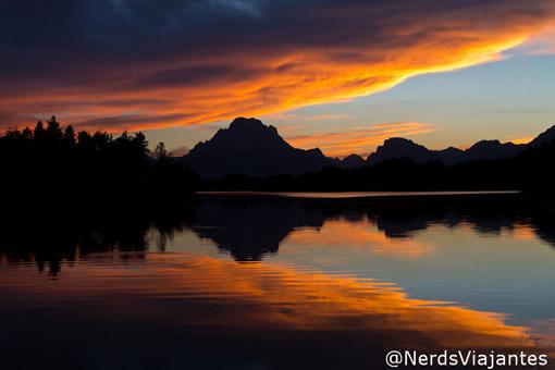 Mount Moran do Grand Teton National Park - USA