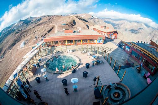 Piscina Valle Nevado Resort