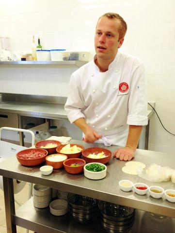 Chef Facundo Belardinelli