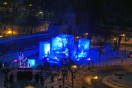 Castelo de Gelo Carnaval de Québec