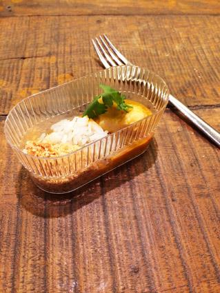 Moqueca de peixe arroz com castanha