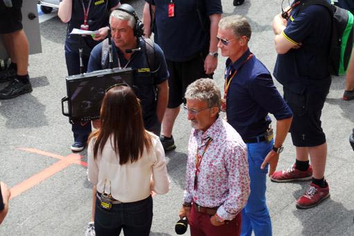 Eddie Jordan e David Coulthard