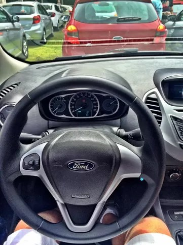 Interior Ford Ka