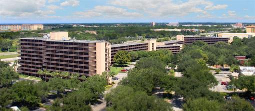 Rosen Inn at Pointe Orlando do alto