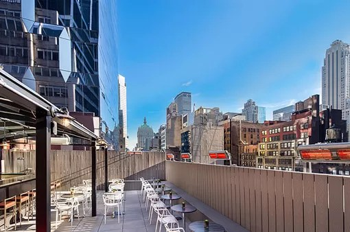 Rooftop Bar - The Hotel @ Times Square