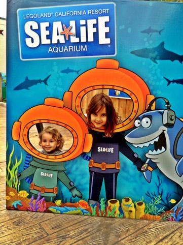 Legoland aquario placa