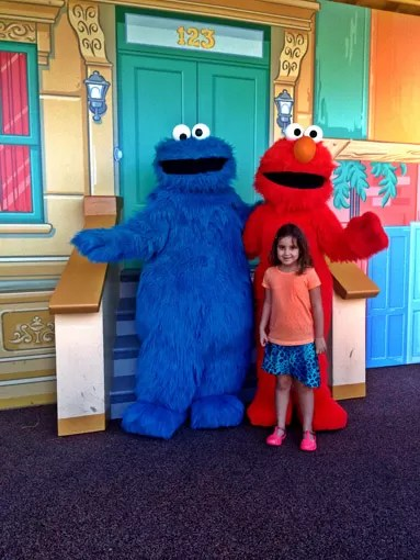 Elmo Sea World