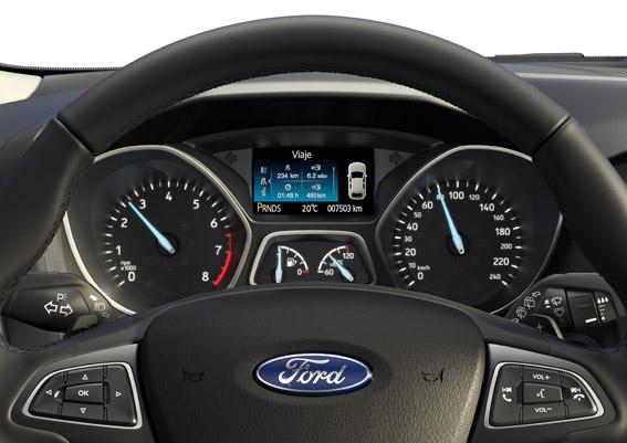 Interior Ford Focus_Leve