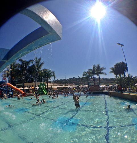 piscina sol