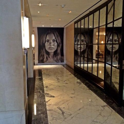 Relais & Châteaux The Surrey arte elevador