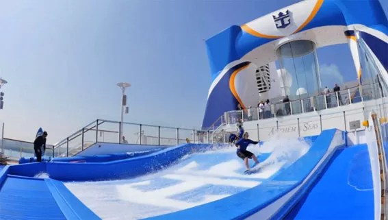 o FlowRider no Anthem of The Seas