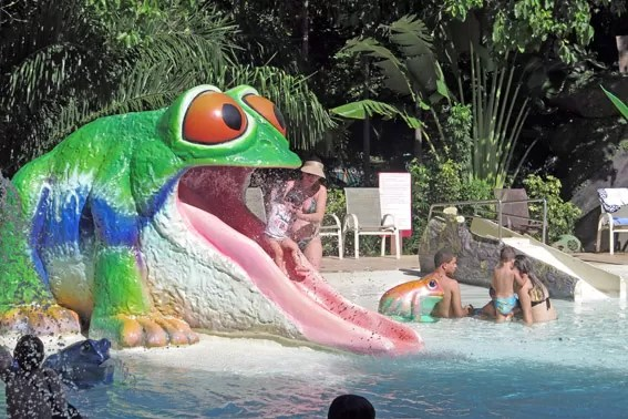 Piscina do sapo Rio Quente Resorts
