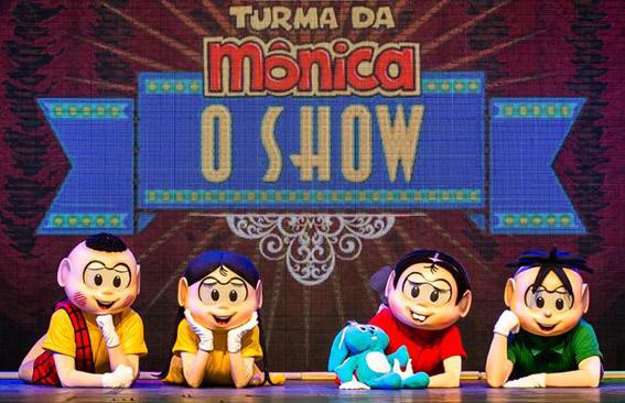turma da monica o show