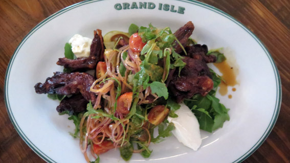 onde comer Grand Isle New Orleans