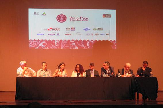 Mesa Fórum Técnico do Festival