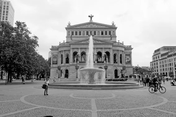 Alte Oper Opera Antiga