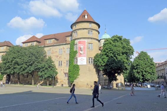 Castelo Antigo Stuttgart Alemanha