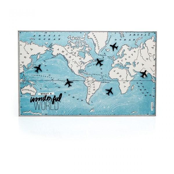 painel de mapa