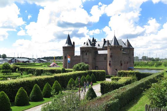 Amsterdam com criança - Castelo Muiderslot Muiden Holanda